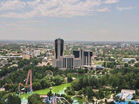 Panorama of Tashkent